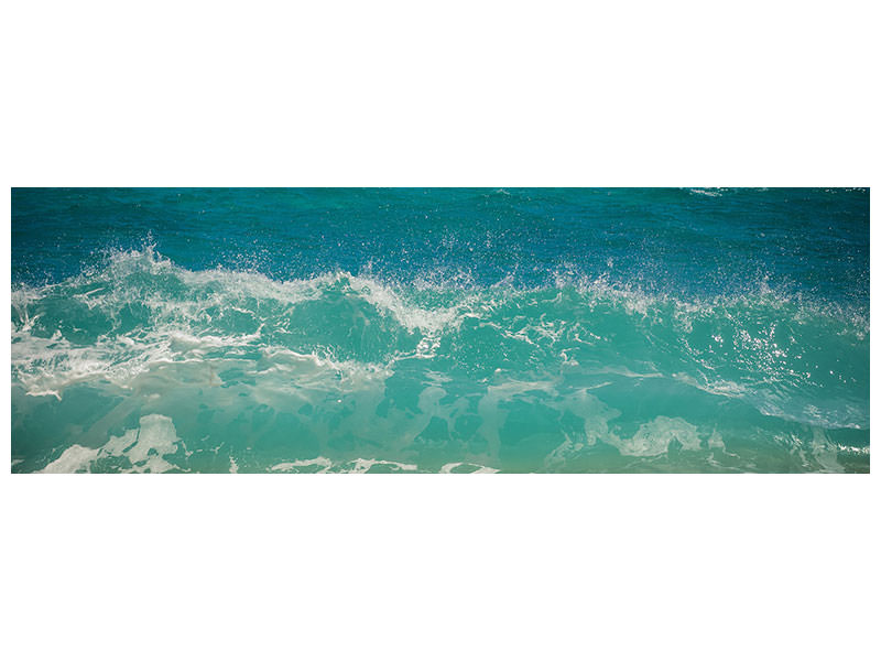 Panoramic Canvas Print Dream waves