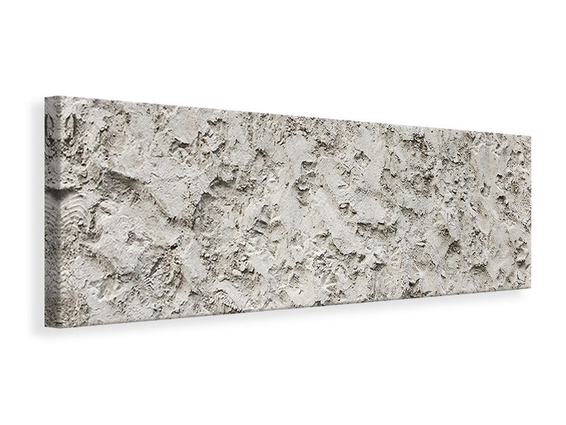 Panoramic Canvas Print Stone surface