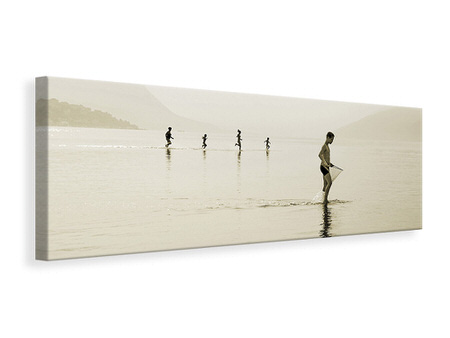 Panoramic Canvas Print Life Is Beautiful