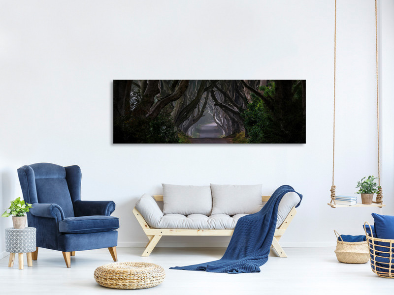 Tableau sur Toile Panoramique Magic Road