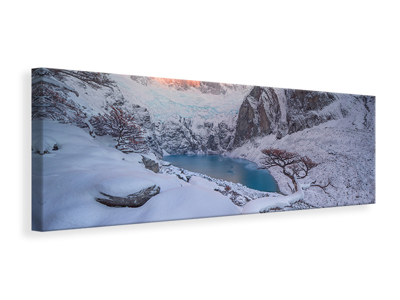 Panoramic Canvas Print A Gift From The Gods