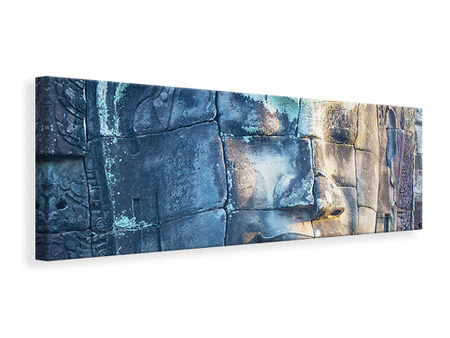 Panoramic Canvas Print Buddha in Rock