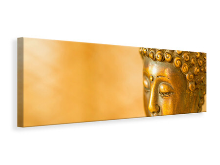 Panoramic Canvas Print Buddha Head