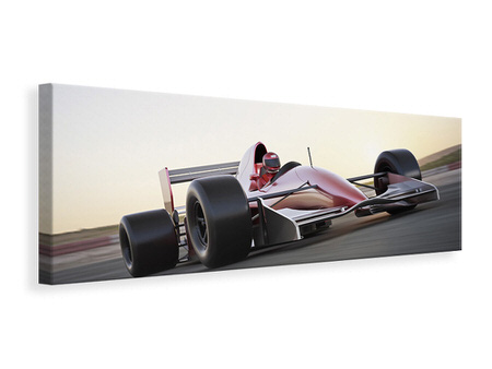 Panoramic Canvas Print Racetrack