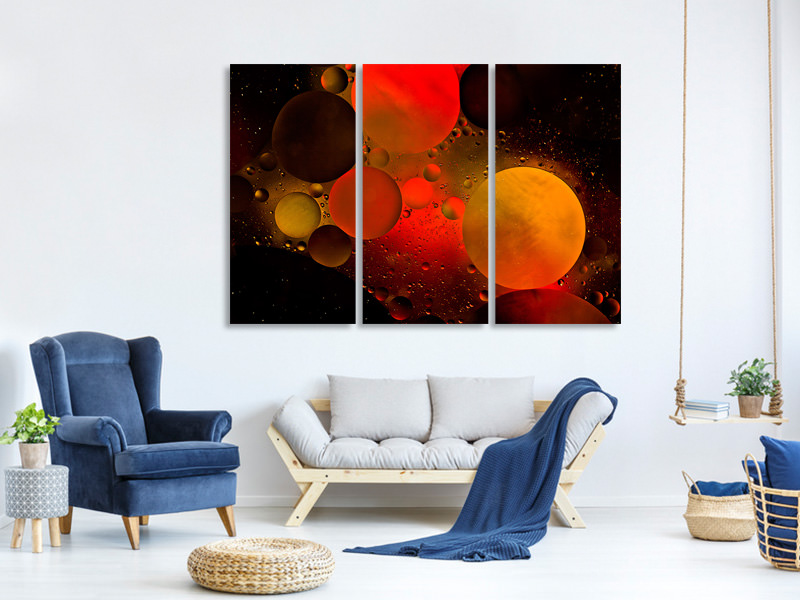 3 Piece Canvas Print Astronomical