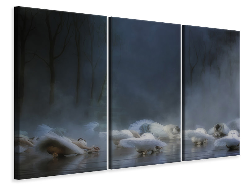 3 Piece Canvas Print Von Rothbarts Curse