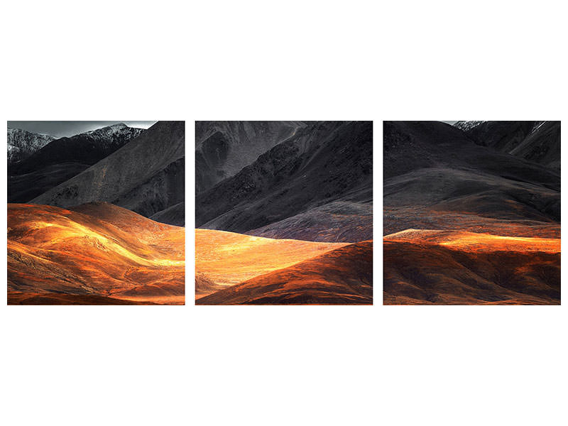 Panoramic 3 Piece Canvas Print Pano