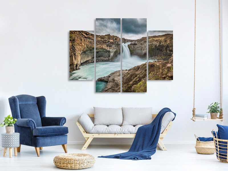 4 Piece Canvas Print Power A