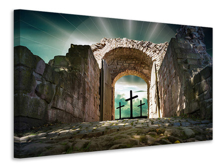 Canvas print The stone gate