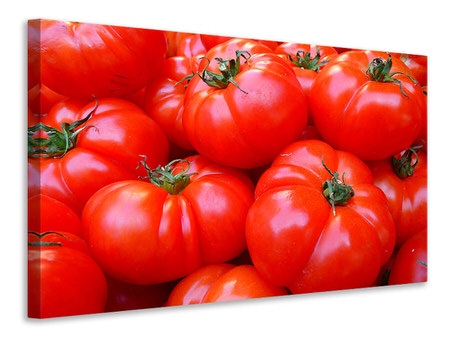 Canvas print Fresh tomatoes
