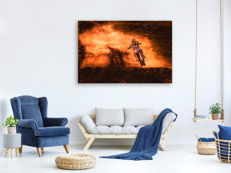 Canvas print Above