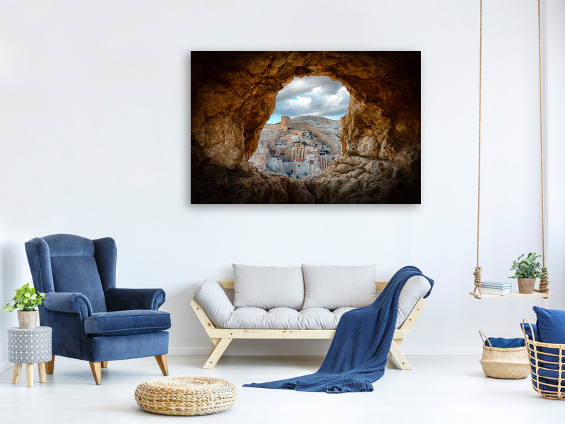 Canvas print A Hole In The Wall
