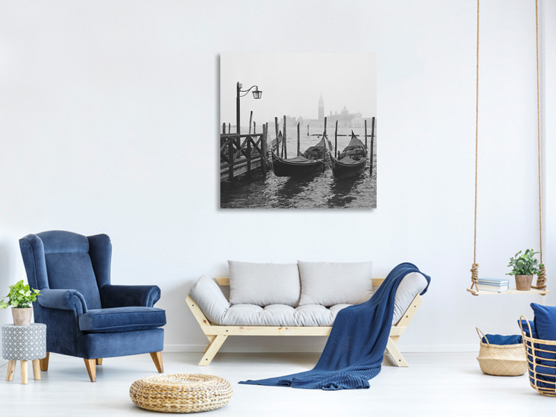 Tableau sur toile Morning In Venice