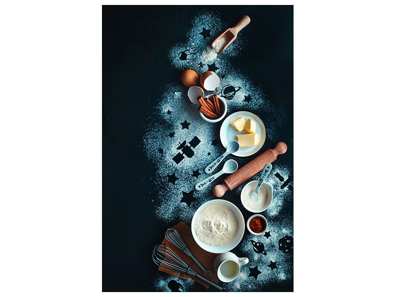 Canvas print Baking For Stargazers