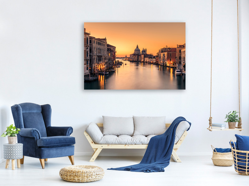 Canvas print Dawn On Venice