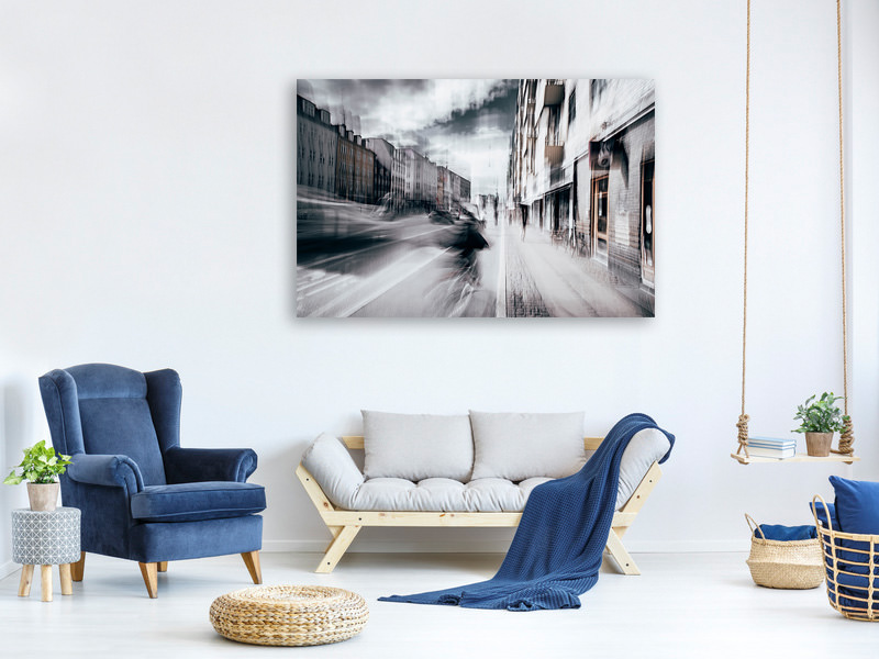 Canvas print Life In Copenhagen