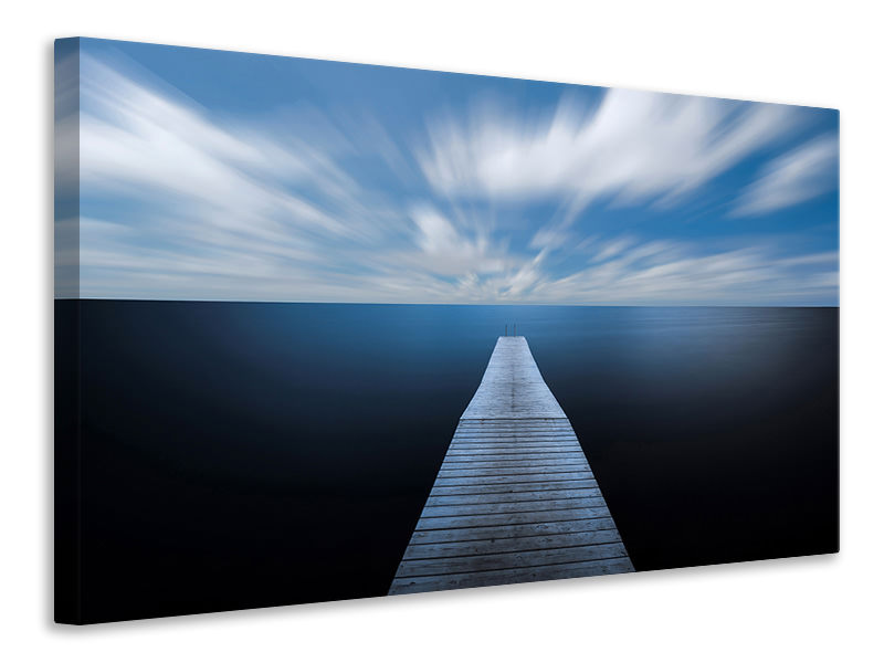 Canvas print On The Edge Of The World