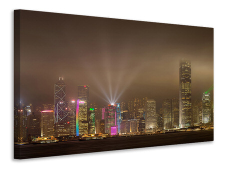 Canvas print Hong Kong Island