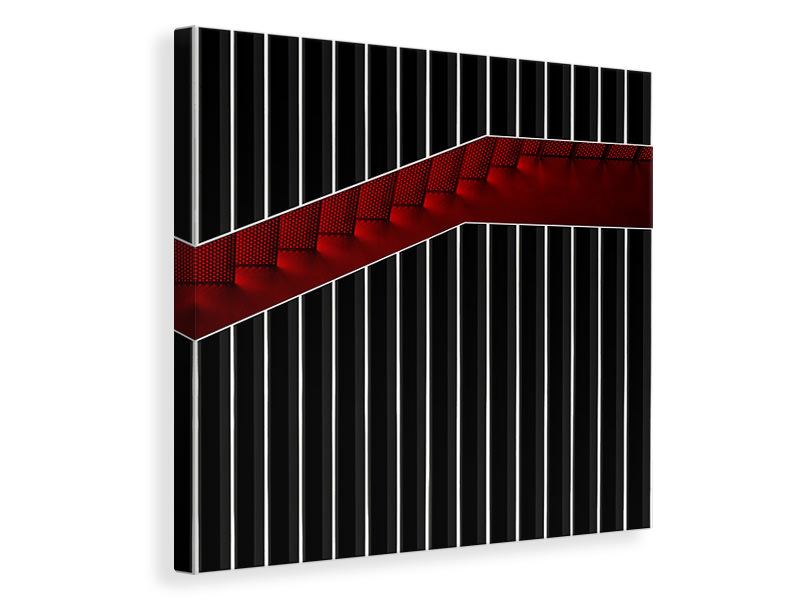 Canvas print Staircase In Gift Box