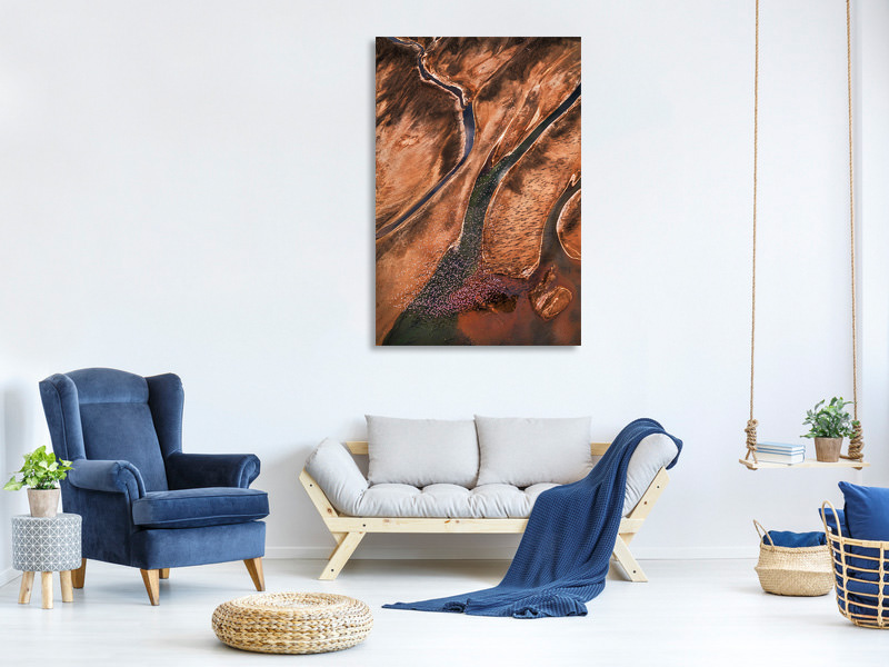 Canvas print Flying Over Palette