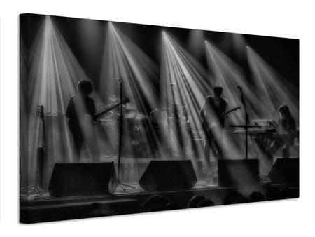 Canvas print On stage