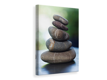 Canvas print Stone Stack