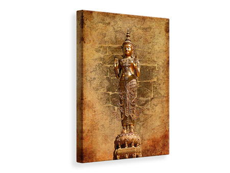 Canvas print Golden Buddha Statue