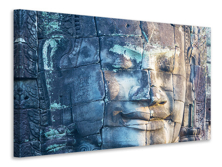 Canvas print Buddha in Rock