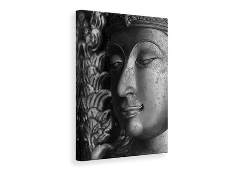 Canvas print Buddha Close Up