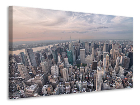 Canvas print Skyline View Over Manhattan