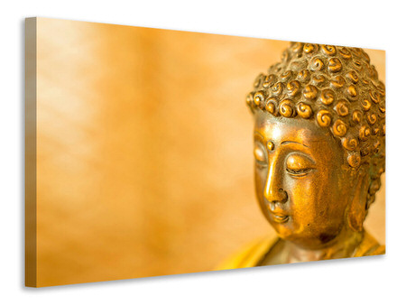 Canvas print Buddha Head