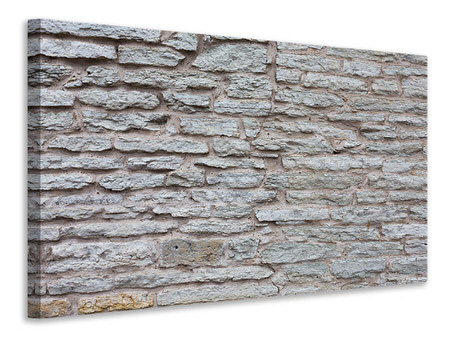 Canvas print Stone Wall
