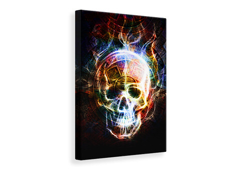 Canvas print Psychedelic Skull