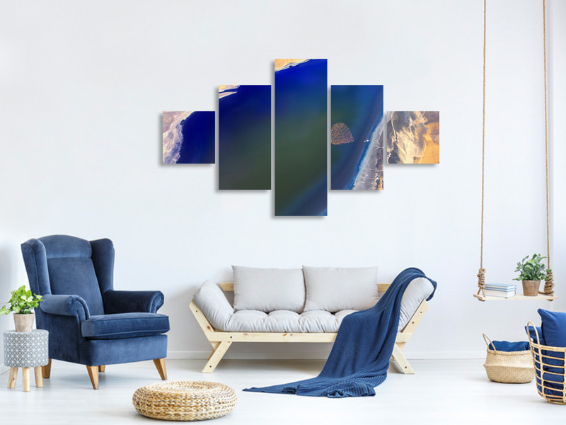 5 Piece Canvas Print The Heart